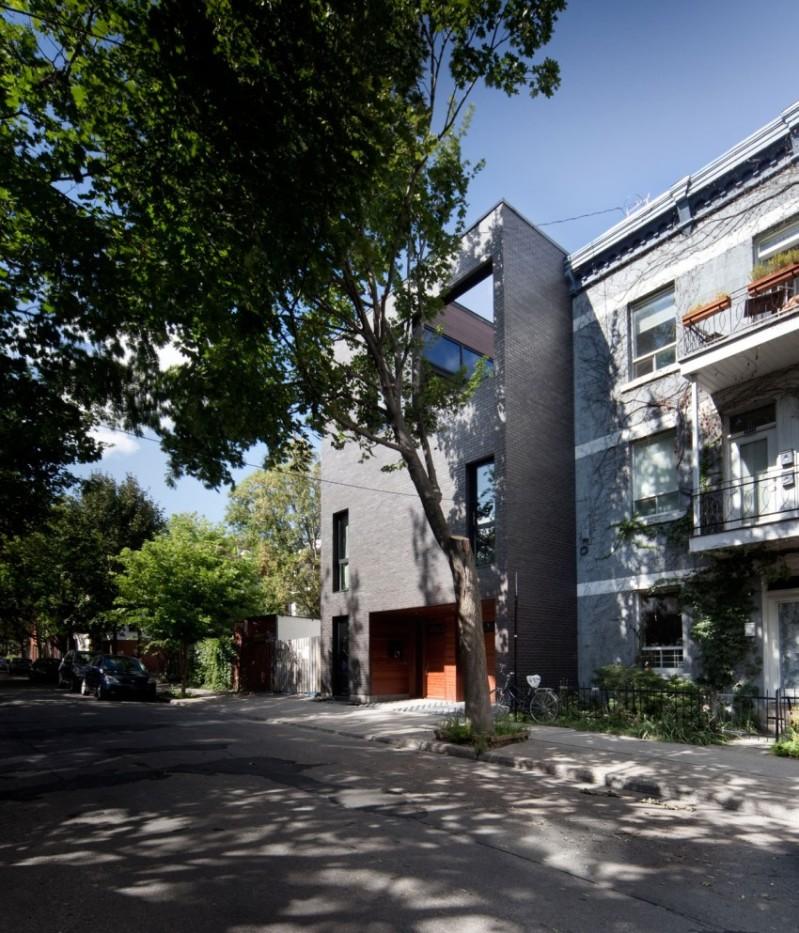 Siamoises Mentana Boyer - Blouin Tardif Architecture-Environnement